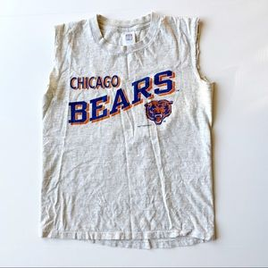 Vintage Chicago Bears Logo 7 Cut off Muscle Shirt